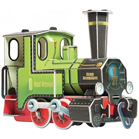 ウンブーム 蒸気機関車 ノンスケール ペーパークラフト UMB412