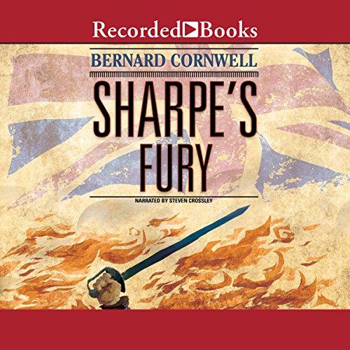 Sharpe's Fury audiobook cover art