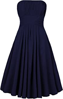 Strapless Pleated Knee-Length Homecoming Dress Bridesmaid Dresses Short