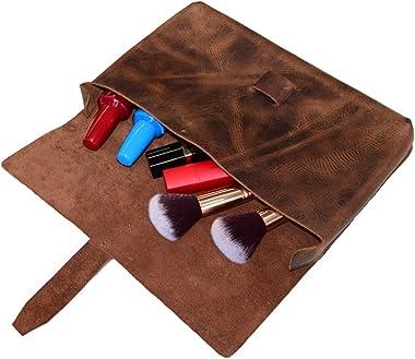 Hide & Drink, Leder-Clutch/Handtasche/Zubehör-Organizer/Handytasche/Hülle, handgefertigt, inkl. 101 Jahre : Bourbon Brown