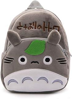 Boys Girls Cartoon Backpack Totoro Panda Plush Student Bag Preschool Gift
