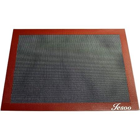 Papier de cuisson perforé, durable et non visqueux - Accessoires de cuisson (Noir)