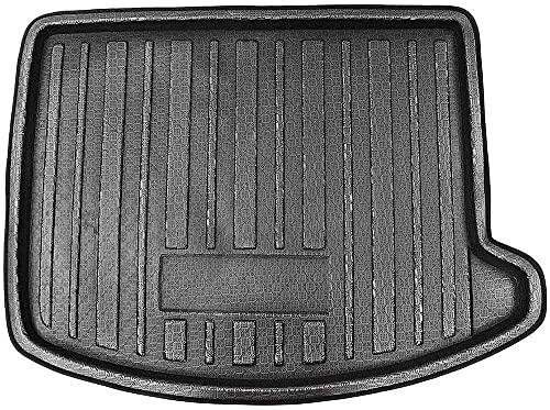 Goma Auto Alfombrillas para Maletero para Ford Escape Kuga 2013 2014 2015 2016 2017 18-2019, Impermeable Forro Trasero Bandeja Protector de Almacenamiento de Maletero Trasero
