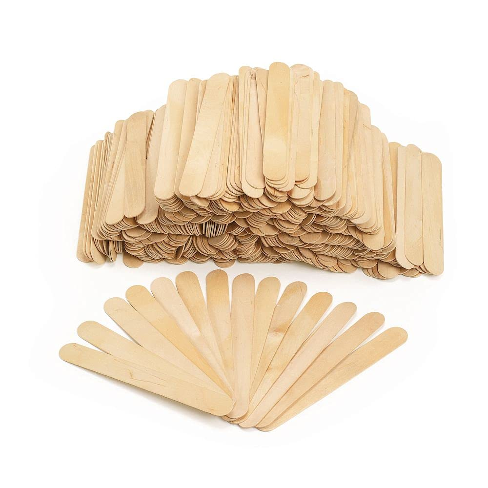 Colorations Jumbo Max 80% OFF Wood Craft Sticks Pieces 500 C Natural Branded goods –