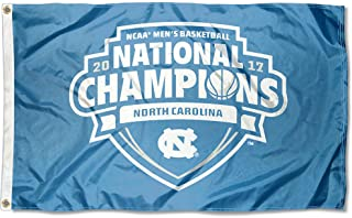 College Flags and Banners Co. North Carolina Tar Heels 2017 Men's Basketball National Champions Flag