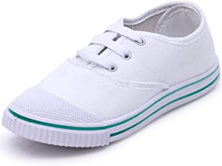 Aircity Kid's Superlight Canvas School Shoes