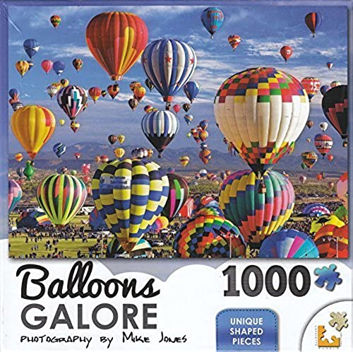 Balloons Galore 1000 Piece Puzzle - Fun In The Air by Lafayette Puzzle Factory