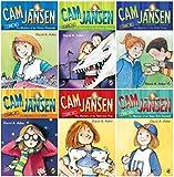Cam Jansen 6 Book Set (Mystery of the UFO, Television Dog, Babe Ruth, Stolen Diamonds, Dinosaur Bones, Gold Coins)