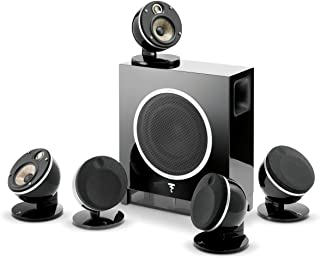 """Klipsch 1064559 RF-7 III Floorstanding Speaker Black Ash PSB Alpha T20 Tower Speaker - Black Ash Paradigm Monitor SE 6000F Floorstanding/Tower Speaker (Matte Black) Definitive Technology BP-9060 Tower Speaker Built-in Powered 10"""" Subwoofer for Home Theater Systems High-Performance Front and Rear Arrays Optional Dolby Surround Sound Height Elevation Focal Dome 5.1-Channel Speaker System with Sub Air (Black)"""