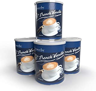 Victorian Inn Instant Cappuccino, French Vanilla, 48-Ounce Canisters (Pack of 4)