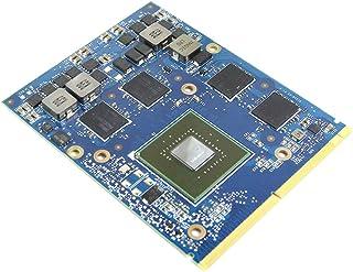 新しい2GB Graphics Card GPU Replacement、for Dell Alienware M15X R1 M17X R1 R2 R4 M18X R1 R2ゲーミングノートパソコン、NVIDIA GeForce GTX 66...