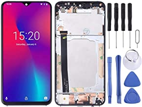 New LCD Screen and Digitizer Full Assembly for Umidigi One Max(Black) Sunsshine (Color : Black)
