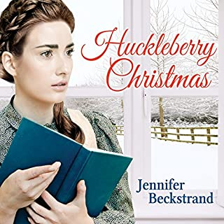 Huckleberry Christmas audiobook cover art