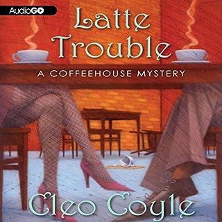 Latte Trouble audiobook cover art