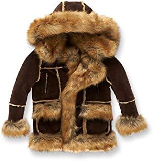 Jordan Craig Kids Aspen Shearling Jacket_Brown