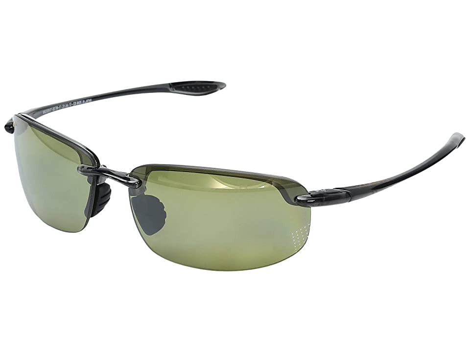 Maui Jim Hookipa Reader Universal Fit 2.00 (Smoke Grey/Maui HT) Sport Sunglasses
