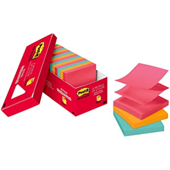 Post-it Pop-up Notes, 3 in x 3 in, 18 Pads, 100 Sheets/Pad (R330-18CTCP), Cape Town