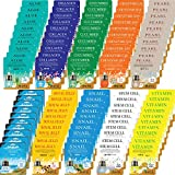 100 pcs Korean Ultra Hydrating Essence Mask Sheets ( 10 x 10 Types) --- Aloe,Collagen,Cucumber,Coenzyme Q10,Pearl,Placenta, Royal Jelly, Snail,Stem Cell,Vitamin [ + Skincare Sample Gifts!!!]