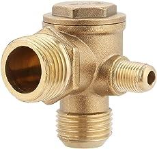 DealMux a15120400ux0194 14 mm Di/ámetro de la tuerca hexagonal del compresor de aire tono de cobre reemplazo del tubo de escape