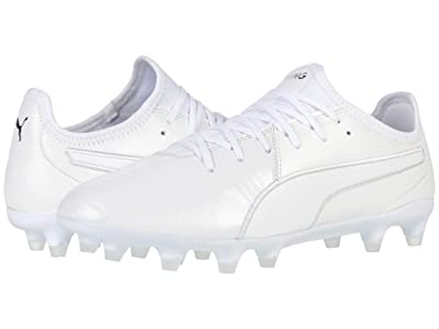 PUMA King Pro FG (Puma White/Puma White/Puma White) Shoes