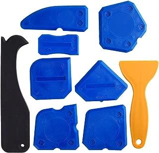 Kuuqa 9 Piezas Kit de Calafateo para Herramientas de Sellado Herramienta de Sellado del Removedor del Silicón Para la Cocina del Cuarto de Baño
