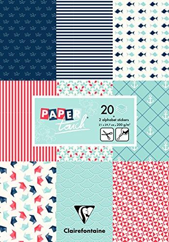 Clairefontaine - Papel para Origami, Papel, Azul Marino, A4