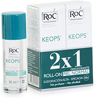 comprar comparacion ROC KEOPS - Desodorante Roll On, Piel Normal, 30 ml (x2)