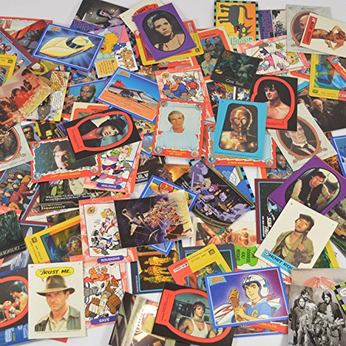Over 200 Retro Nostalgic Non Sport Trading Cards and Stickers Featuring...