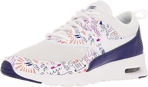 Nike WMNS Air Max Thea Thea Print, Chaussures de Sport Femme  profitez d'une réduction de 30 à 50%