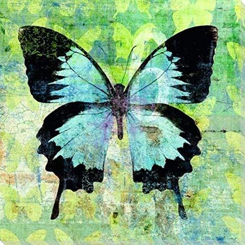 Preisvergleich Produktbild HGDSG DIY Digitalmalerei Erwachsenen Kinder Schmetterling Geschenk Digitalmalerei Kit Home Decoration 40x50cm rahmenlosDIY Malwerkzeuge