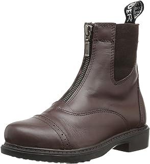 TuffRider 儿童 Baroque 前部拉链派克靴带金属拉链