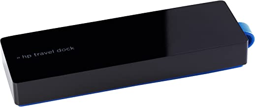 HP USB-C Travel Dock T0K29AA - Base (Cable, USB 3.0 (3.1 Gen 1) Type-C, Negro)