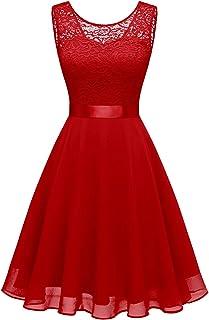 Suchergebnis Auf Amazon De Fur Rot Kleider Damen Bekleidung