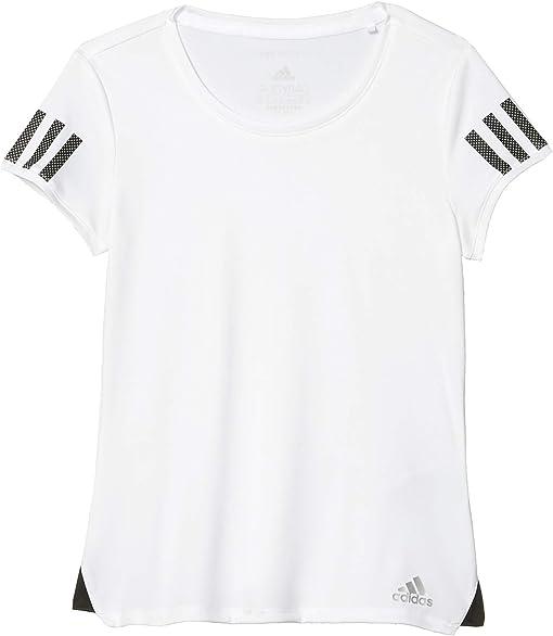 White/Matte Silver/Black
