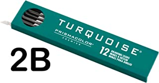 Prismacolor Premier Turquoise Drawing Lead Refills, 2.0 mm, Pack of 12, 2B (2176)