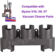 Techypro Docks Station Accessory Holders Storage Equipment Shelf for Dyson V7 V8 V10 Cordless Stick Vacuum Cleaner Parts Brush Tool Nozzle Base Bracket Kits