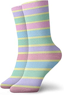 iuitt7rtree Calcetines Estilo Vintage para Adultos Colourful2 Calcetines