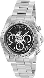 Invicta Men's Disney Limited Edition Japanese-Quartz Watch with Stainless-Steel Strap, Silver, 20 (Model: 22864)