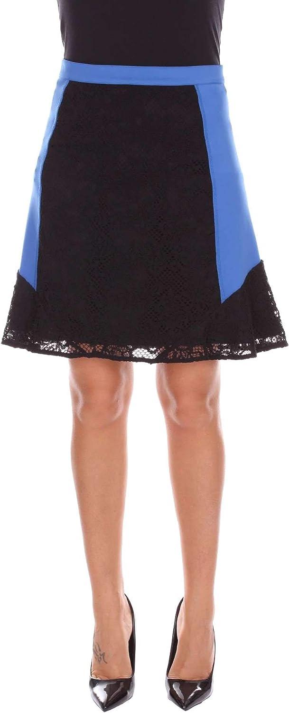 PINKO Women's 1G12WLY441ZG1 bluee Black Polyester Skirt