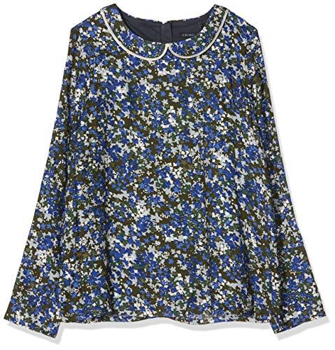 IKKS blouse voor het openen van de rug, bedrukt, camouflage, meisjes - - 6 ans