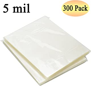 RyhamPaper Thermal Laminating Pouches, 8.9 x 11.4-Inches/Letter Size/5 mil, 300 Pack