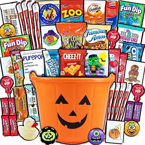 Treat Filled Pumpkin Bucket