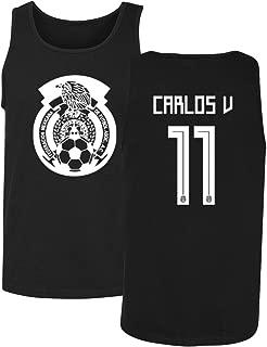 Tcamp Mexico 2018 National Soccer #11 Carlos Vela World Championship Men's Tank Top