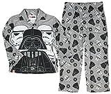 Star Wars Lego Boys Flannel Pajama Set (4-5) Gray/Black
