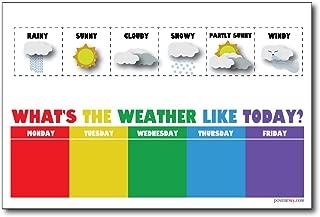 weather board for preschool