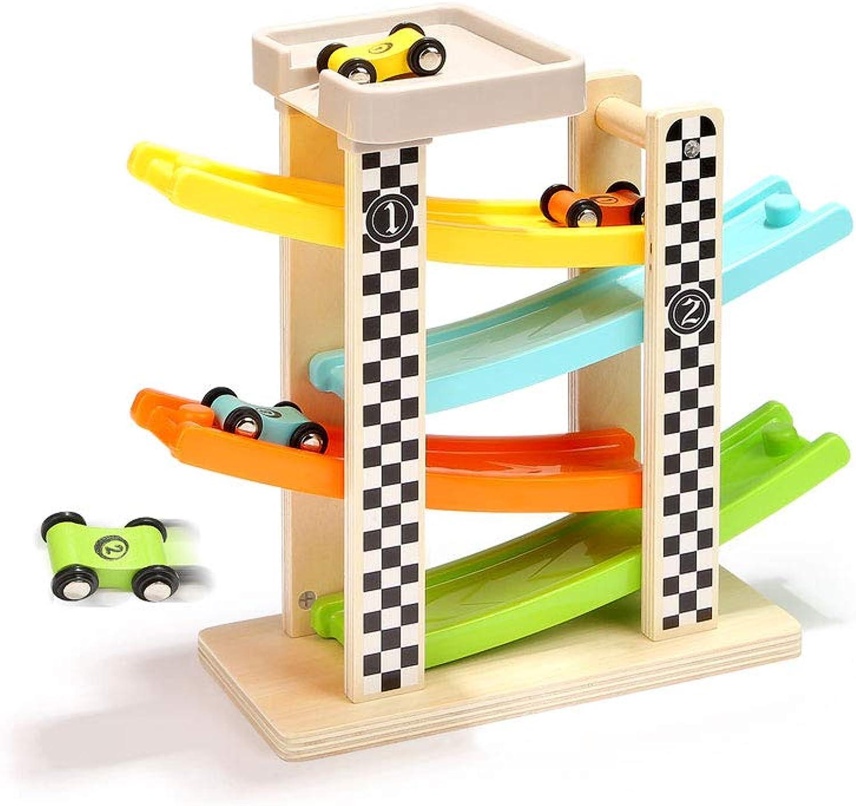 LIUFS-rossoAIE Rail auto giocattolo Puzzle di 2-3 Anni Track Glider Boy Girl 3-6 Anni giocattolo auto Bambini (Dimensioni   S.)