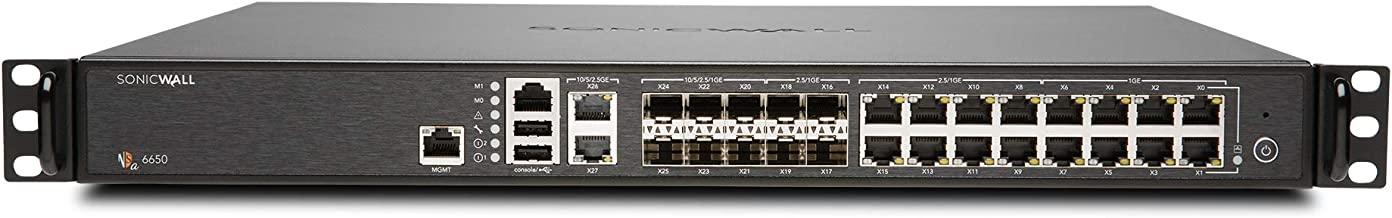 SonicWall NSA 6650 High Availability 01-SSC-3218