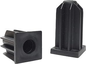 """Caster Socket Sleeve Square Inserts, 7/16"""" Inside Stem, 7/8"""" Outside Diameter - Set of 4"""