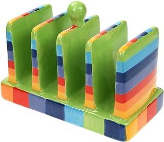 KitchenCraft Serenity Porte-toast en bois de mangue Marron 8 x 12 x 6 cm