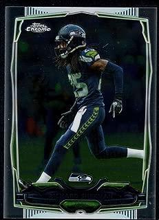 2014 Topps Mini Chrome #97 Richard Sherman Seahawks NFL Football Card NM-MT